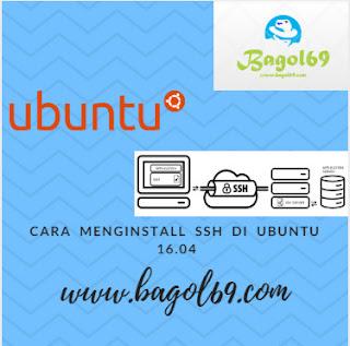 Cara  Menginstall  SSH  di  Ubuntu  16.04