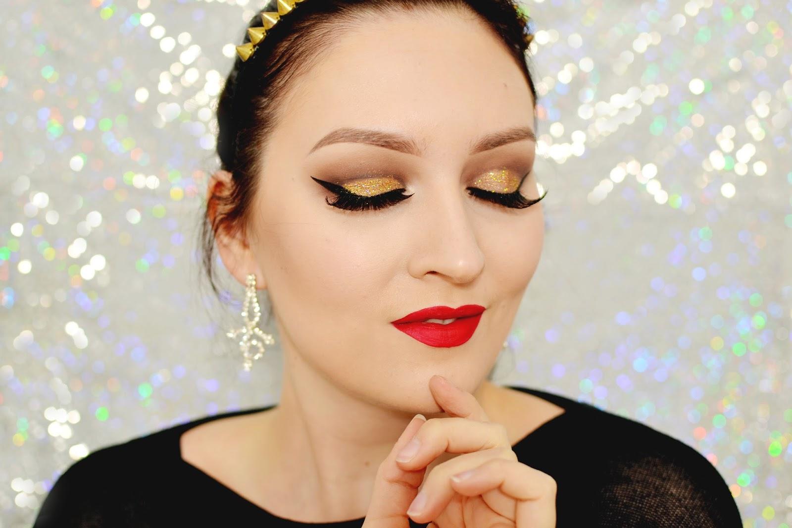 elegancki makijaż wieczorowy tutorial