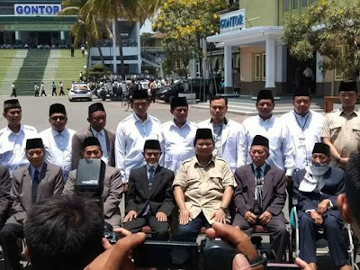 Kunjungan Prabowo ke Pondok Modern Darussalam Gontor