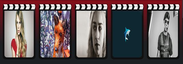 سلايد شو يعرض المواضيع حسب التسمية لقالب افلام