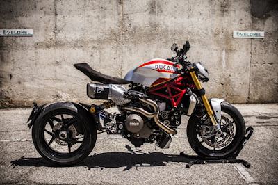 """Ducati Monster 1200 S """"Siluro"""" Street Fighter by XTR Pepo"""