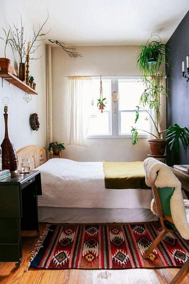 Desain Interior Kamar Tidur Sederhana Ukuran Kecil Mungil