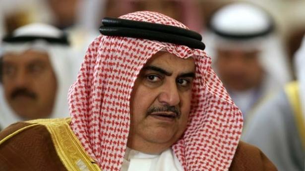 وزير الخارجية البحرينى