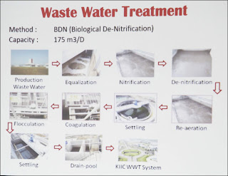 Proses pengolahan air limbah PT Ajinomoto Karawang