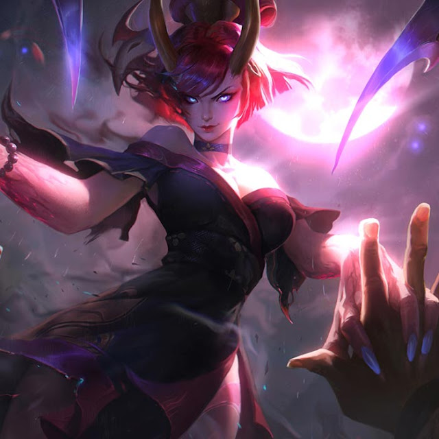 Bloodmoon Evelynn Wallpaper Engine