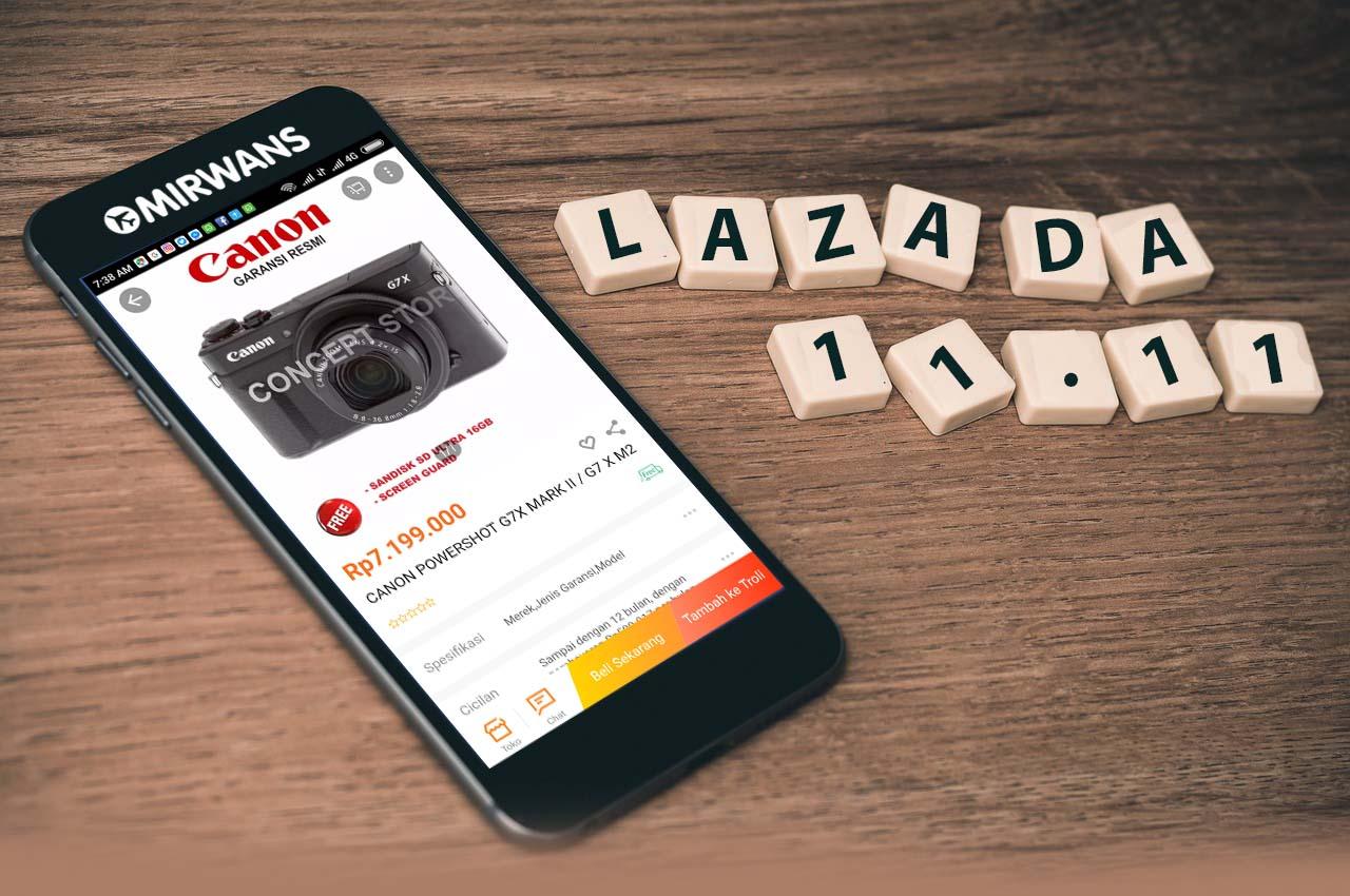 Festival Belanja 11.11 dari Lazada, Lazada diskon terbesar selama 24 jam, 11 November menjadi hari yang penting untuk memanjakan diri kita sendiri
