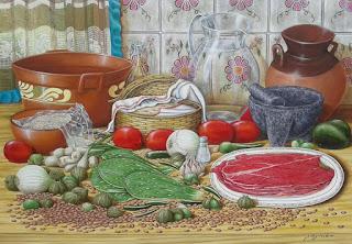 pintura-bodegon-componentes-mexicanos