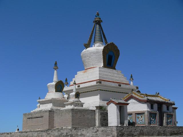 Golden Stupa, Erdene Zuu Khiid, Kharkhorin.