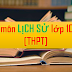 Sáng kiến kinh nghiệm môn Lịch sử cấp THPT (SKKN môn Lịch sử lớp 10, 11, 12)