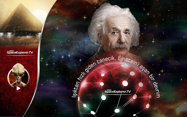 Işıktan hızlı giden tanecik Einstein'i aşan bir devrim.