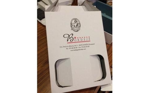 cajas para 3 botellas de vino personalizadas