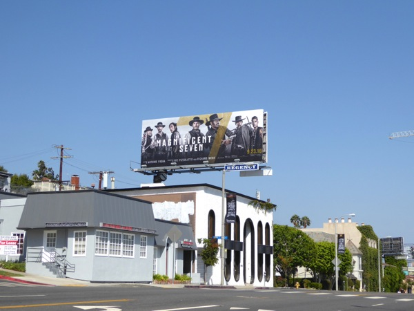 Magnificent Seven film billboard