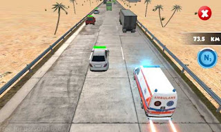 Traffic Race Crash Ambulance Apk