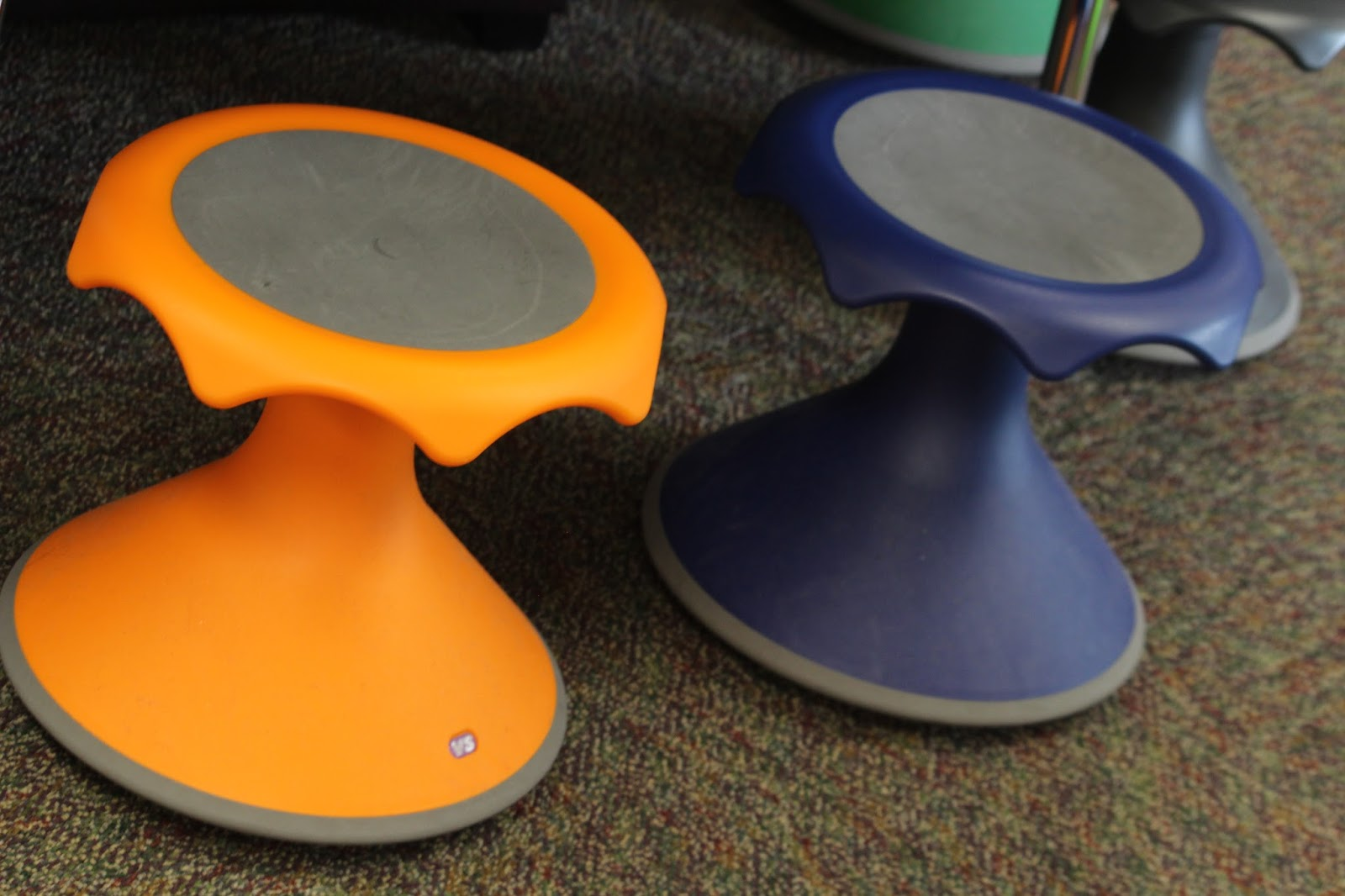 First Grade Funtastic Alternative Seating Options In