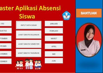 Aplikasi Absensi Siswa SD, SMP, SMA dan SMK Berbasis Excel