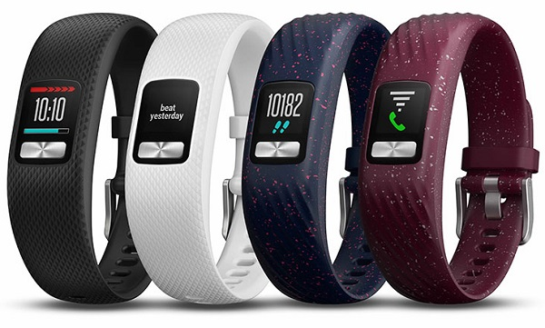 GARMIN launches vívofit 4 activity tracker with always-on color display and 1+ year battery life