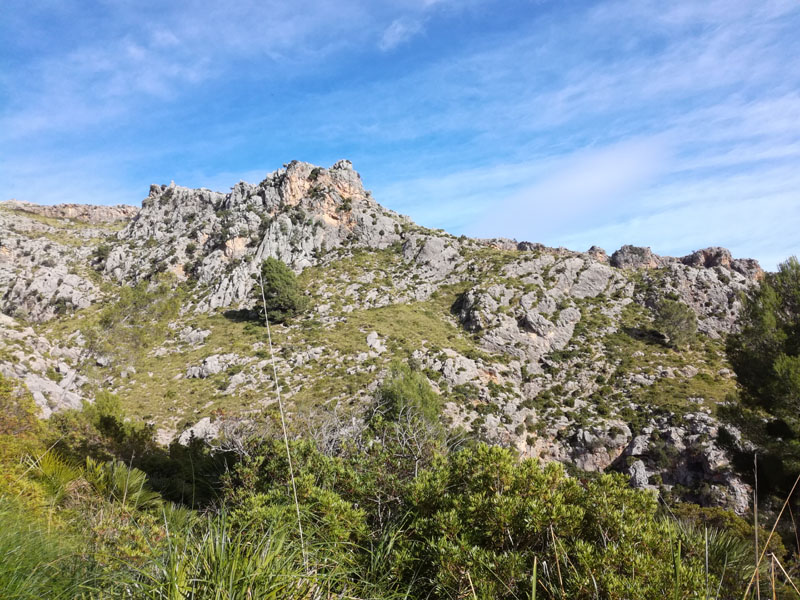 Foto: trekking verso il Coll d'Ariant
