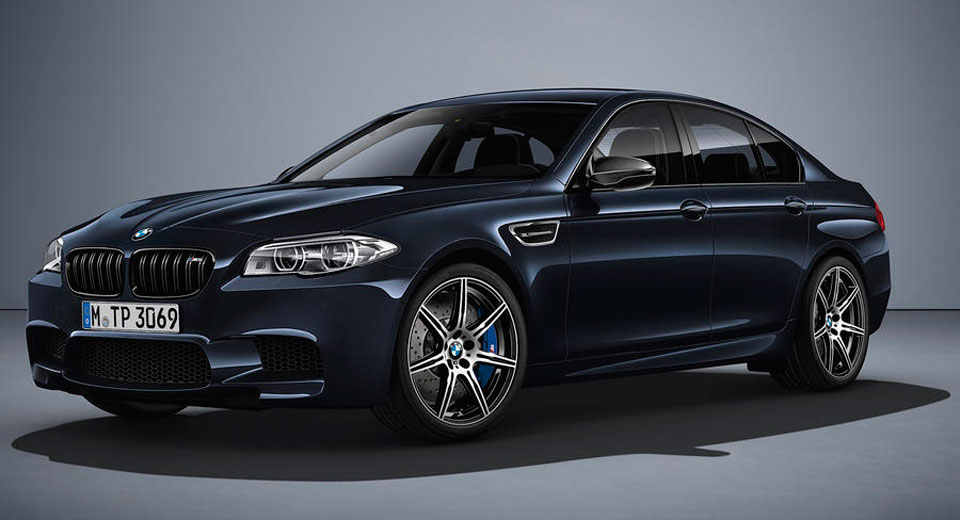 BMW Bids Farewell To F10 M5 With Special Competition Edition