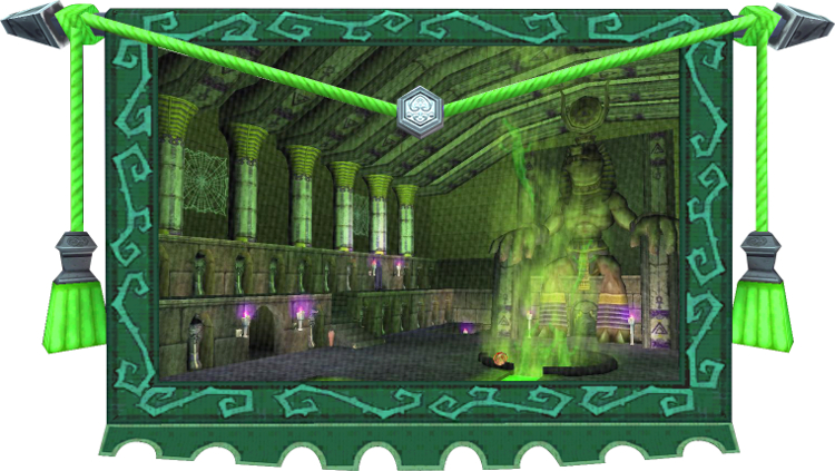 Wizard101 Tapestry - Well of Spirits