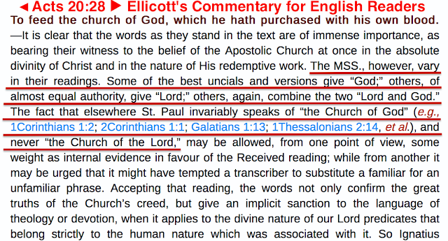 Acts 20/28. Ellicott's Commentary for English Readers,