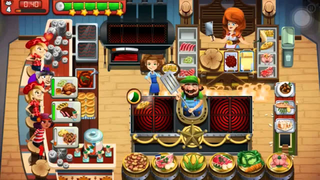 Cooking Dash 2017 APK Mod (Unlimited Golds/Coins) V1.29.13 Terbaru  1