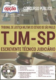 Apostila Concurso TJMSP 2016 Escrevente Técnico Judiciário