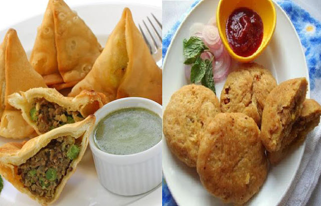 SAMOSA AND PYAZ KACHORI - THE TASTE OF INDIA, heritageofindia, Indian Heritage, World Heritage Sites in India, Heritage of India, Heritage India