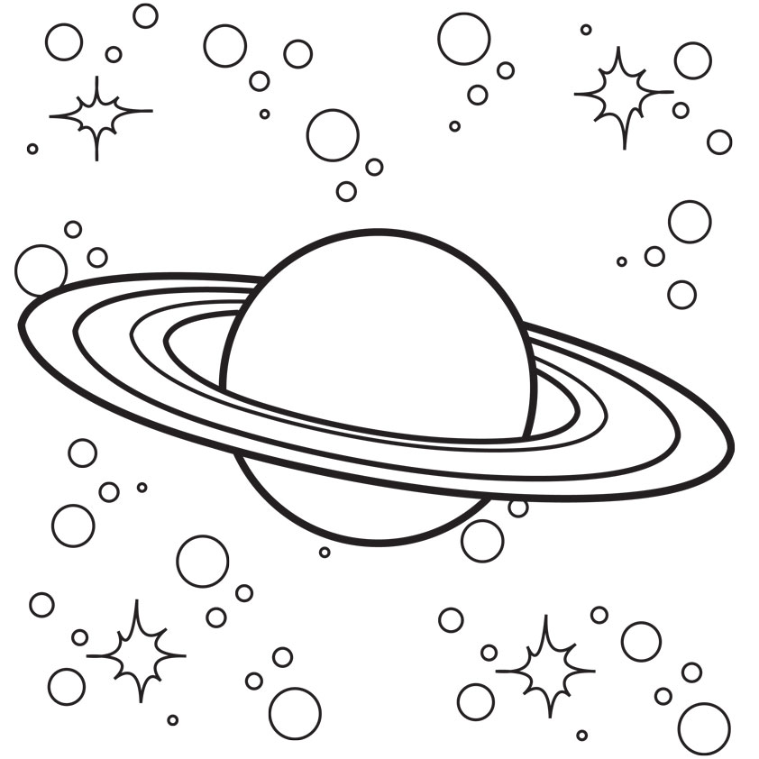 childrens space coloring pages - photo#34