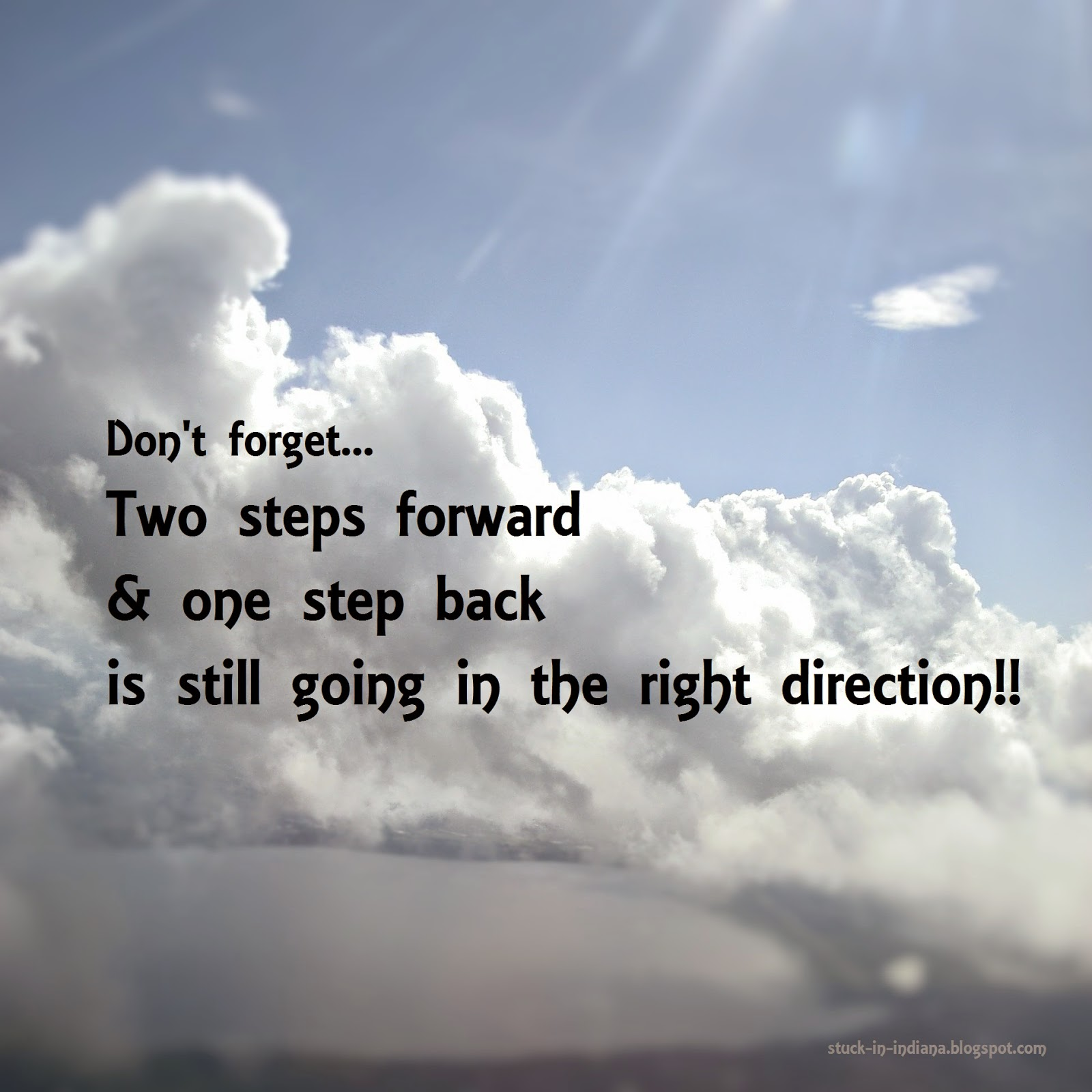 Two Steps Forward Quotes. QuotesGram