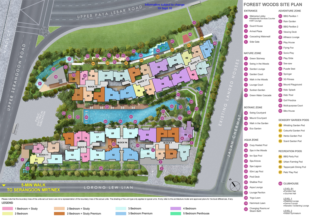 Forest Woods Site Plan