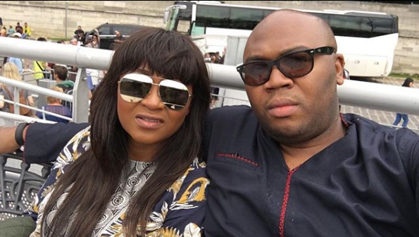 Mary Njoku's moving tribute to her husband as he turns 37 | Mr Olumide's Blog