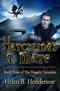 Hatchling's Mate, fantasy, Helen Henderson