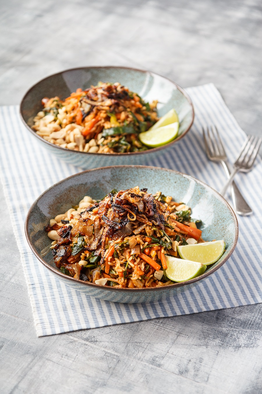 Vegan Shallot And Vegetable Nasi Goreng