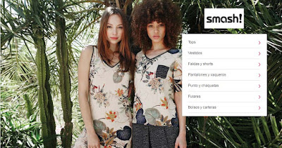 oferta de ropa para mujer de la marca Smash
