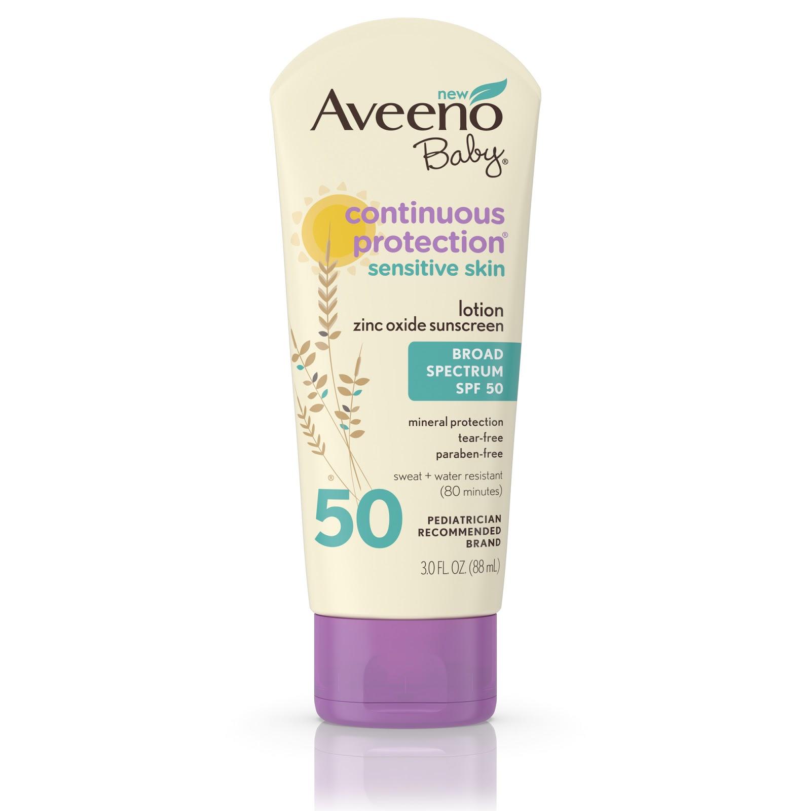 Pammy Blogs Beauty New Aveeno Baby Zinc Oxide Sunscreen