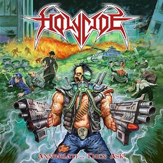 """Το τραγούδι των Holycide """"Deserve to be Erased"""" από τον δίσκο """"Annihilate... Then Ask!"""""""