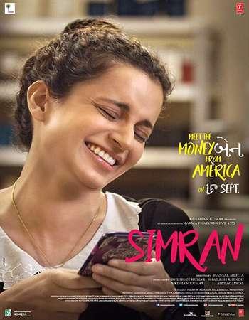 Simran 2017 Hindi 550MB HDRip 720p ESubs HEVC
