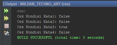 Contoh sderhana penggunaan method isEmpty pada Java