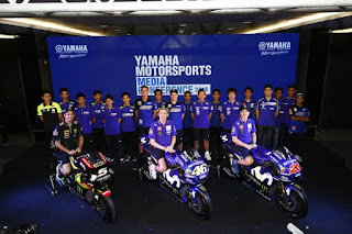 Yamaha Racing Kenalkan Galang Hendra dan Wahyu Aji Dalam Konferensi Internasional