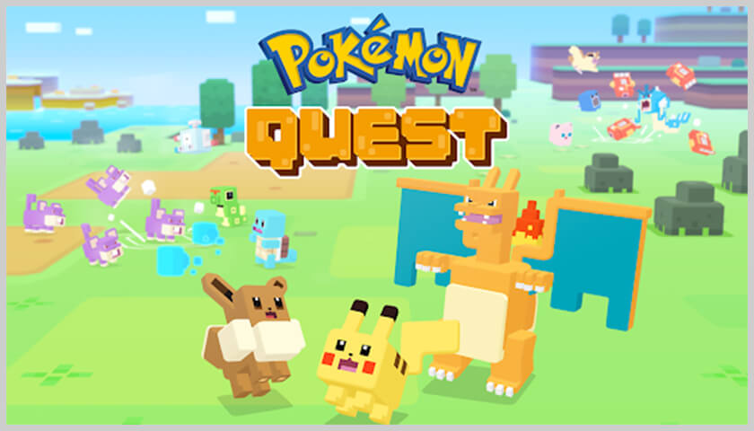 screen pokémon quest