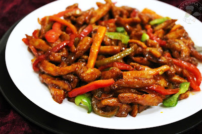 easy spicy juicy chicken recipe for all those chinese chicken dish lovers