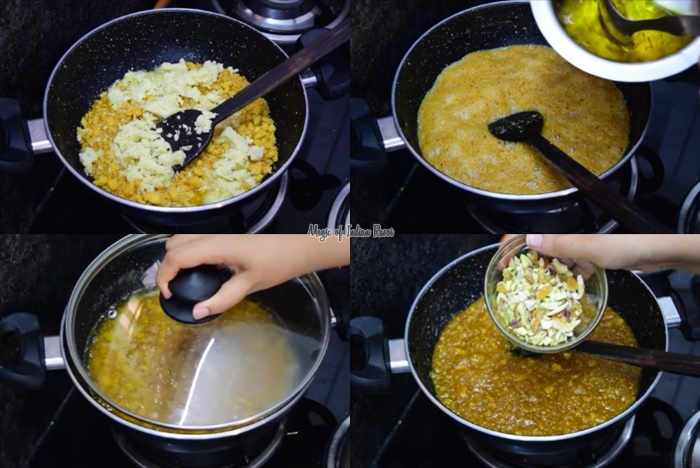Rajasthani Moong Dal Halwa Recipe