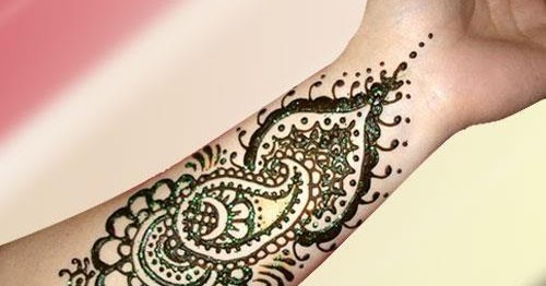 13 Unique Henna Designs Doing The Rounds This Wessing: FUN AND FASHION HUB: Unique And Stylish Henna Design On Arm