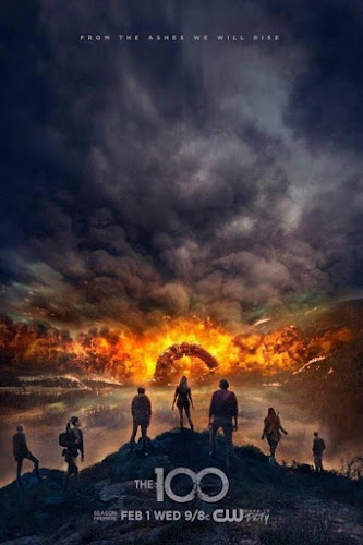 The 100 Temporada 4 (HDTV 720p Ingles Subtitulada) (2017)