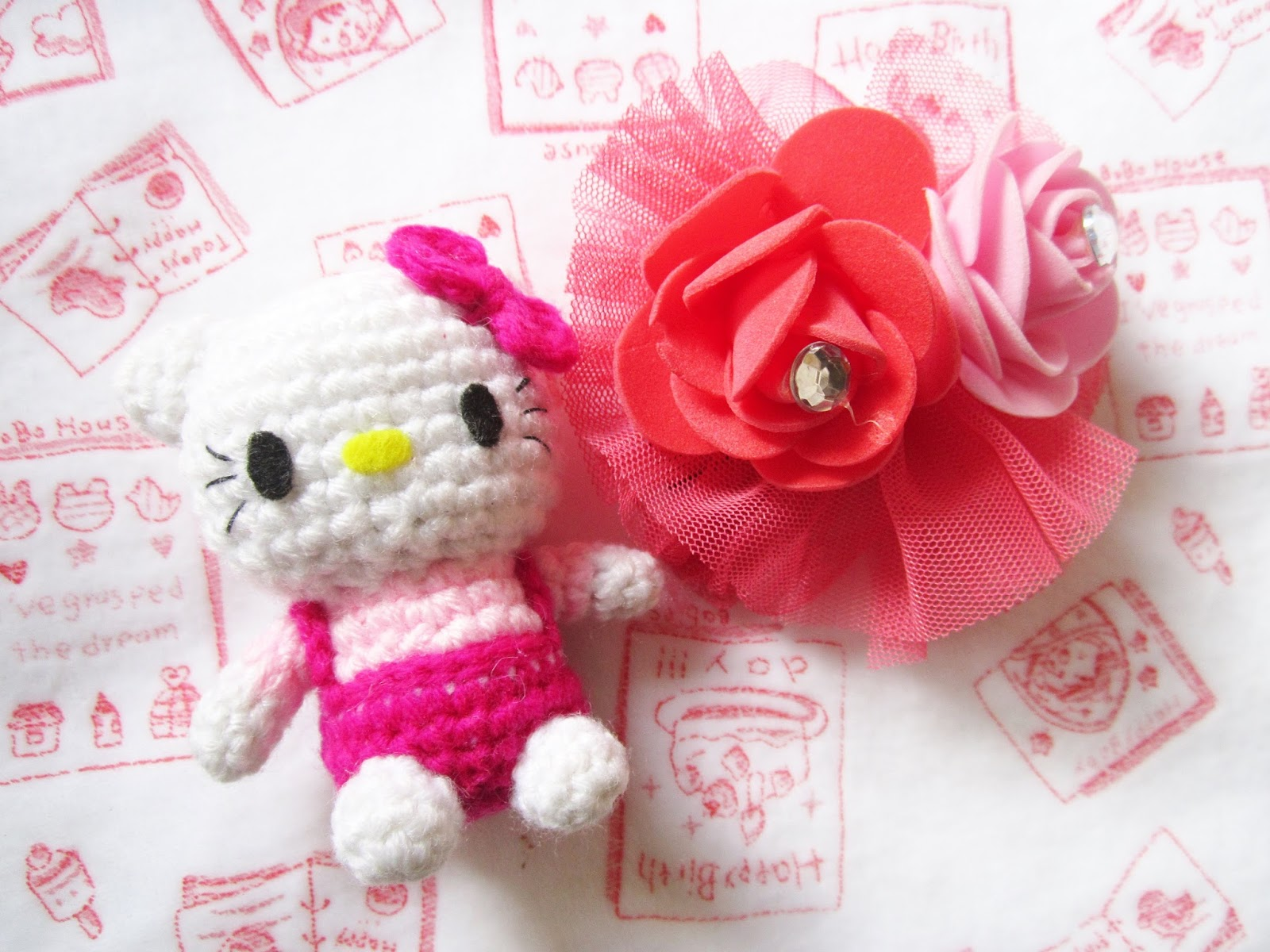 Amigurumi Hello Kitty - FREE Crochet Pattern / Tutorial | Hello ... | 1200x1600
