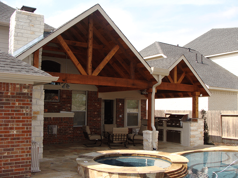 Custom Outdoor Patio Construction DFW 9