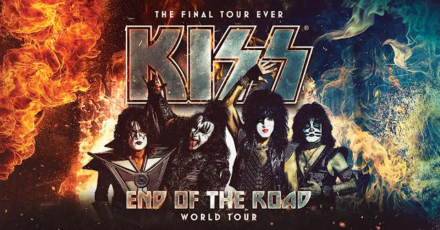 KISS announces 'End of the Road' tour dates