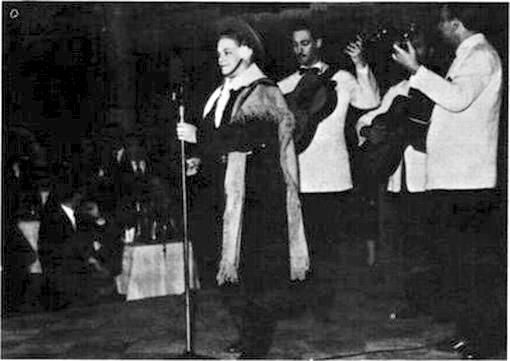 Azucena Maizani en Patio de tango