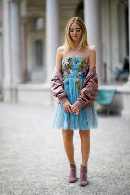 Chiara Ferragni in Milan. Photo: Imaxtree