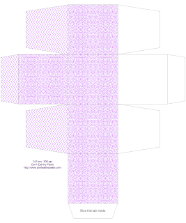 All occasional fancy tiles gift box- available in 2 sizes and 3 colors #printables #papercraf